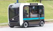 Olli - autonom fahrender Bus / Bild: Jason Dixson/LOCAL MOTORS
