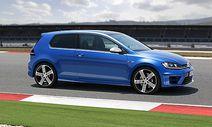 Der neue Volkswagen Golf R / Bild: Porsche Medienservice