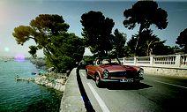Insgesamt zehn Mercedes SL kann man in Frankreich und Italien mieten - (c) Daimler / Bild: (c) Daimler