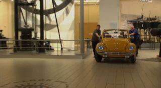 Kreiskys Cabrio im Technischen Museum /