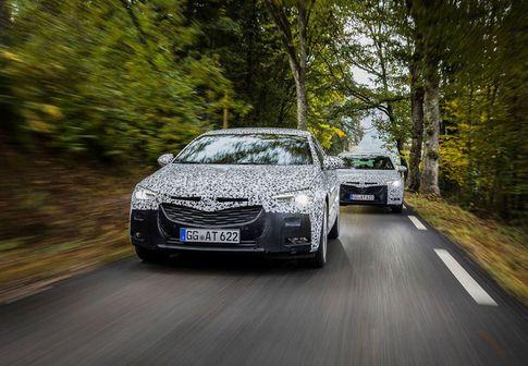 Neue Architektur beim Opel Insignia Grand Sport / Bild: OPEL