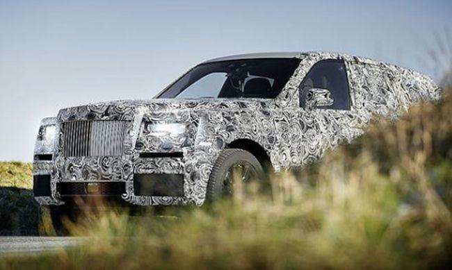 Das SUV von Rolls-Royce kommt 2018 © ROLLS-ROYCE / Bild: © ROLLS-ROYCE