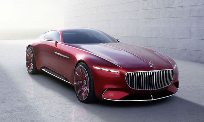 Das Showcar Vision Mercedes-Maybach 6 © DAIMLER / Bild: © DAIMLER