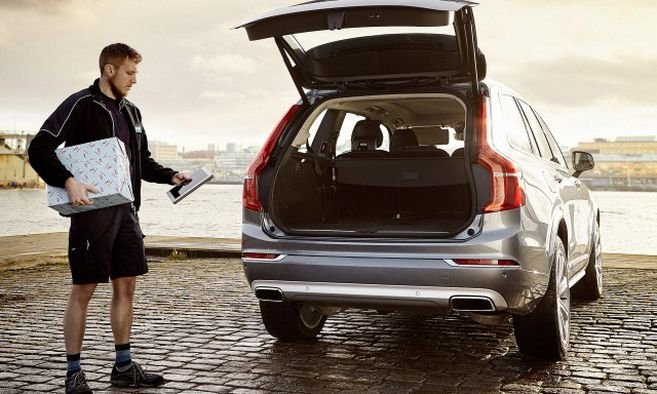 In-Car Delivery Service / Bild: Volvo