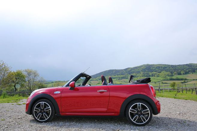 Mini Cooper S Cabrio; Bild: WB/Peroutka / Bild: WB/Peroutka